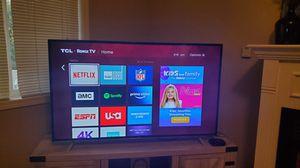 TCL 55in 4k Roku HDTV for Sale in Sumner, WA