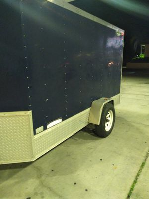 5x10 Predator Eagle trailer .Well made trailer. All lights work. Rear ramp door, side door FIRM PRICE for Sale in NEW PRT RCHY, FL