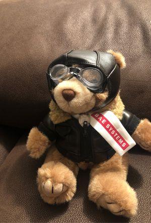 Aviator teddy bear for Sale in Providence, RI