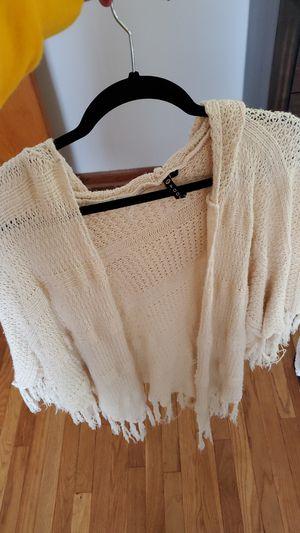 Fringe short sleeve sweater/ kimono for Sale in Beech Grove, IN