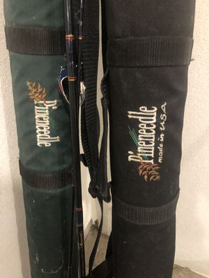 Fly fishing pole and two travel cases for Sale in Sandy, OR