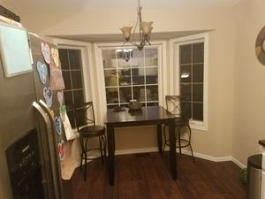 Kitchen table with bar chairs for Sale in Oak Grove, MN