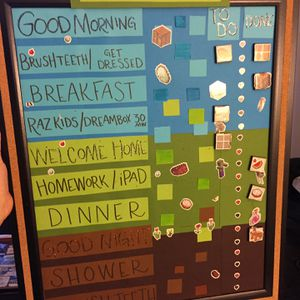 kids schedule board for Sale in Stamford, CT