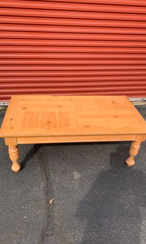 Wood coffee table for Sale in North Springfield, VA
