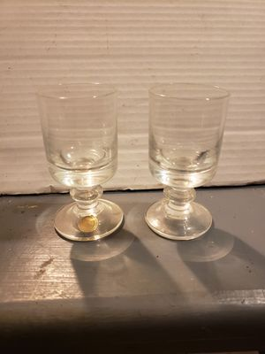 2 Vintage (CRYSTAL) cordial glasses ($8 for both) for Sale in Columbus, OH