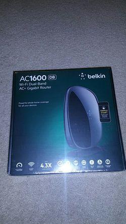 Belkin AC1600 WiFi dual band ac+ gigabit router for Sale in Beaverton,  OR