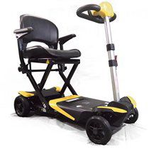 Transformer Electric Folding Mobility Scooter (Yellow) by Solax for Sale in Mesa, AZ
