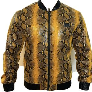 Brand new snake skin Style Unisex bomber jacket for sell for Sale in Los Angeles, CA
