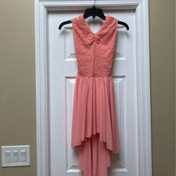 Girls Peach/pink Dance Costume (size LC) for Sale in Tampa,  FL
