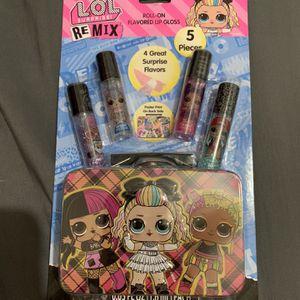 LOL SURPRISE! 4 Lip Balms & Case for Sale in Claremont, CA