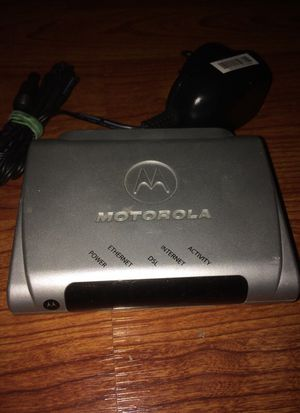 Motorola DSL internet modem for Sale in Tamarac, FL