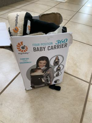 Baby carrier Ergobaby and insert for Sale in Sherwood, OR