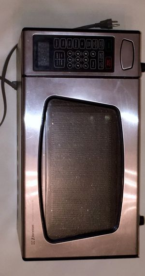 Emerson Stainless Steel Microwave ~ Microonda Plateado for Sale in Miami, FL