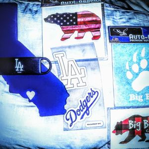 Dodger Stickers, Big Bear Window Stickers Cali Package for Sale in Fullerton, CA