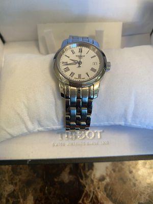 Stainless steel tissot women's watch like new for Sale in Springfield, VA