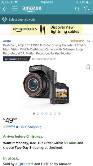 Brand new Dash Cam for Sale in Jacksonville, FL