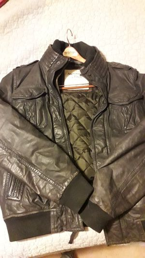 Abercrombie & Fitch leather jacket for Sale in East Wenatchee, WA