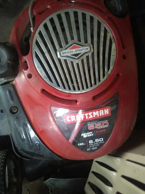 Craftsman lawn mower with bag for Sale in Missoula, MT