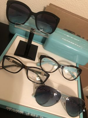 Tiffany & Co glasses. $140 each for Sale in Houston, TX