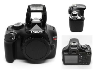 Canon EOS Rebel T3 12.2MP Digital SLR Camera - Black (Kit w/ EF-S 18-55mm Lense for Sale in Bethlehem, PA