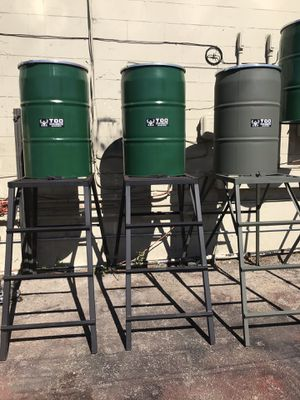 60 gallon food grade screw top plastic barrels for sale