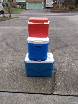 3 Coolers for Sale in Mountlake Terrace,  WA