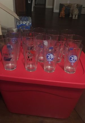 14 Collectible Glasses Giveaway Texas Fort Worth for Sale in Dallas, TX