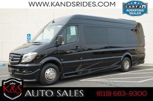 2015 Mercedes-Benz Sprinter 3500 Limousine Conversion Van | Rear-seat for Sale in San Diego, CA