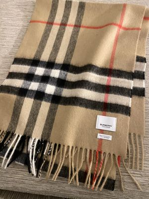 Original Burberry Scarf, With Tag and Receipt. for Sale in Orange, CA