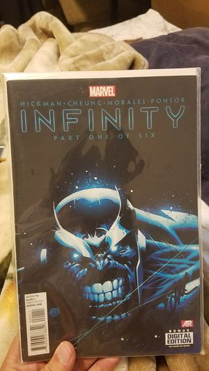 Issue 1 of Marvels Infinity! Excited for the Avengers Infinity movie coming out? This is the perfect collectible for any avengers fan!! for Sale in Sandy Spring, MD
