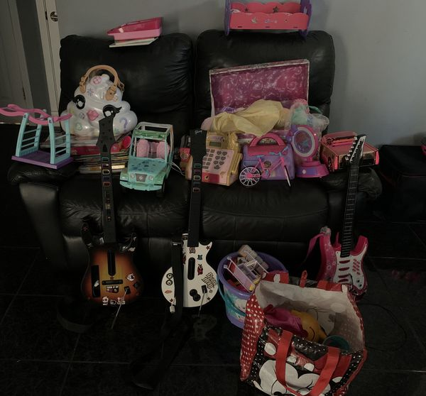 Girl Toys, Dolls And Dresses