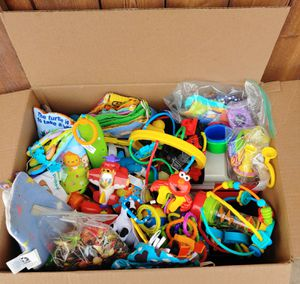 FREE - Box of Toys - PENDING PICK UP for Sale in Fresno, CA