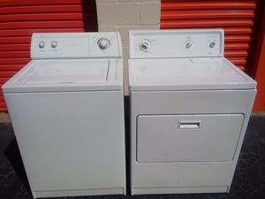 💁🏼‍♀️👀👀 Washer & Dryer 👀 Can deliver 😁🚚🚚 for Sale in Atlanta, GA