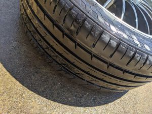 3 Black Rims & Tires for Sale in Clinton, MD