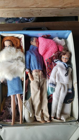 Original Barbies with Case for Sale in Tacoma, WA