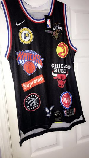 NBA supreme jersey for Sale in Lancaster, SC