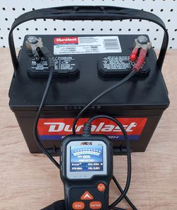 Car Battery Group Size 58 Duralast (2020)- $60 With Core Exchange/ Bateria Para Carro Tamaño 58 Duralast (2020) for Sale in Lynwood,  CA