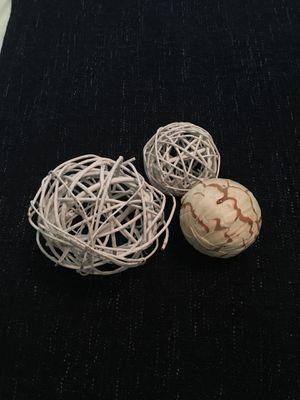Decorative balls home decor for Sale in Pomona, CA