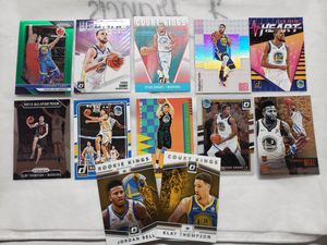 Golden State Warriors Basketball card Collection for Sale in Stockton, CA