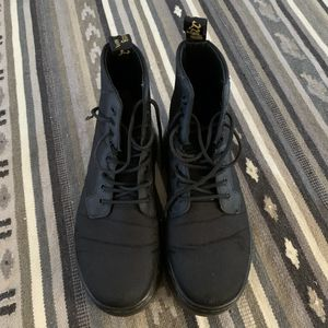 Black doc martens women's size 8 for Sale in Huntington Beach, CA