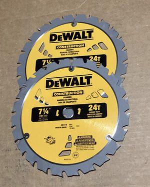 """Dewalt Blade Saw 7 1/4"""" for Sale in Lynn, MA"""