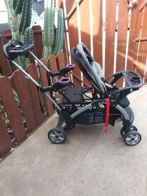 Double stroller baby trend for Sale in Phoenix, AZ