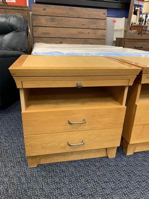 Pair of solid wood nightstands for Sale in Virginia Beach, VA