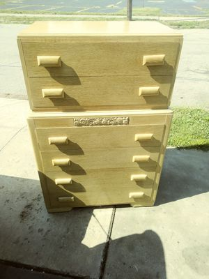 Solid wood dresser 150 firm for Sale in Erie, PA