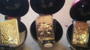 Pokemon Balls 24k gold for Sale in Chandler, AZ