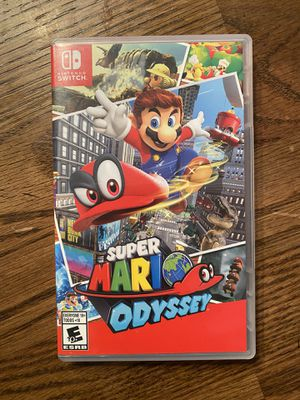 Super Mario Odyssey Nintendo Switch for Sale in Buda, TX