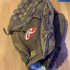 "RAWLINGS SANDLOT SL125P 12.5"" Leather Baseball / Softball Glove ~ RHT Great Cond for Sale in Mesa, AZ"