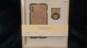 iPhone xs iPhone x case and ring stand for Sale in Sulphur, LA