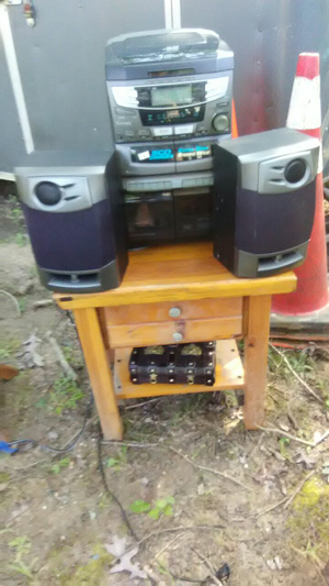 2 stereo's with speakers $50 for both for Sale in Millersville, MD