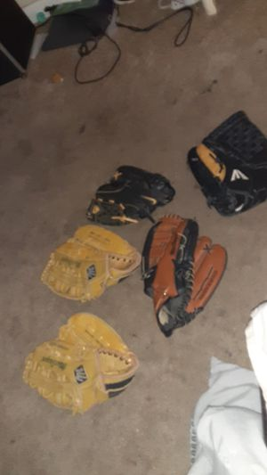 Baseball gloves for Sale in Virginia Beach, VA